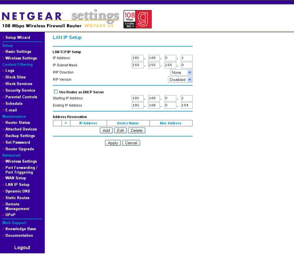 Netgear screenshots click apply if any changes are made ccuart Image collections